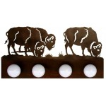 image for Buffalo Southwestern Vanity Light Bar 4 bulb