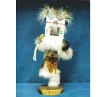 image for BUTTERFLY Kachina Doll Navajo Made 3 sizes