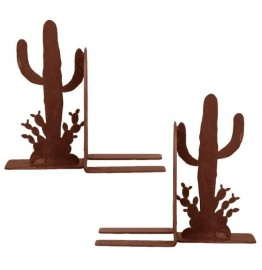 image for Saguaro Cactus Southwest Bookend Set