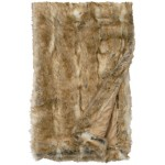 image for Canadian Stone Fox Faux Fur Throw Blanket 54 x 72