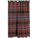 image for Canyon View Western Fabric Shower Curtain