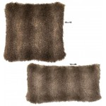 image for Cape Grey Fox Faux Fur Throw Pillow Set of 2