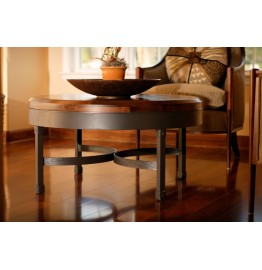 "image for Cedarvale Iron Coffee-Cocktail Table 36"" Round"