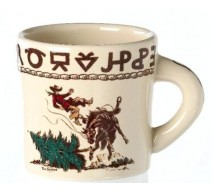 image for Cowboy Christmas Western 12 oz Mug True West