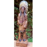 image for Cigar Store Indian Hand Painted Resin Statute 24""