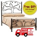 image for Complete Forged Iron Bed Sets