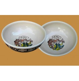 image for Little Buckaroo Chuck Wagon Childs 12 oz Cereal Bowl