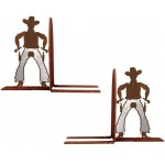 image for Cowboy Draw Western Bookend Set