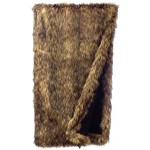 image for Coyote Faux Fur Throw Blanket 54 x 72