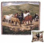 image for Cripple Creek Remuda Tapestry Throw & Pillow Set