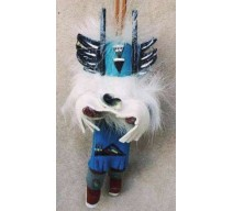 image for Crow Mother Kachina Southwest Christmas Ornament