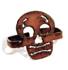 image for Day of the Dead Rustic Napkin Rings set of 8