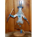image for DEER Navajo Wood Carved Kachina Doll 12 inch