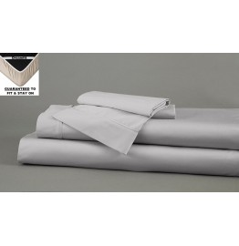 image for DreamFit 5-Degree Bamboo-Cotton CAL-KING Bed Sheet Set GREY