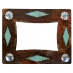 image for Desert Diamond & Turquoise Southwest Photo Frame 5 x 7