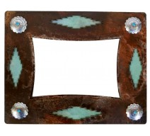 image for Desert Diamond & Turquoise Southwest Photo Frame 8 x 10