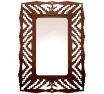 image for Desert Flower Navajo Design Rustic Southwest Wall Mirror 30 x 20