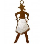image for Cowgirl Draw Pistols Western Ornaments Set of 3
