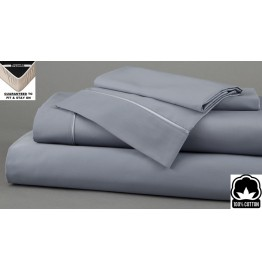 image for Dusk Dreamfit 3-Degree 100% Pima Cotton TWIN XL Bed Sheet Set