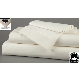 image for Champagne Dreamfit 4-Degree 100% Egyptian Cotton TWIN Bed Sheet Set
