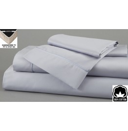 image for Twilight Dreamfit 4-Degree 100% Egyptian Cotton SPLIT CAL KING Bed Sheet Set