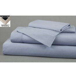 image for DreamFit 5-Degree Bamboo-Cotton SPLIT CAL-KING Bed Sheet Set BLUE