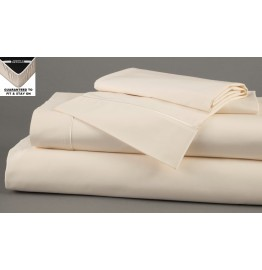 image for DreamFit 5-Degree Bamboo-Cotton TWIN-XL Bed Sheet Set ECRU