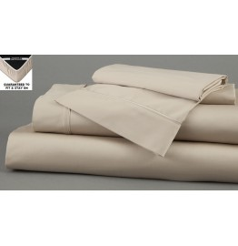 image for DreamFit 5-Degree Bamboo-Cotton QUEEN Bed Sheet Set SAND