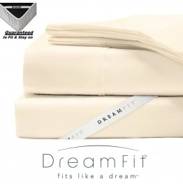 image for ECRU DreamFit DreamChill Bamboo Enhanced TWIN Bed Sheet Set