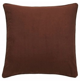 image for El Dorado Chestnut Suede EuroSham Cover 26x26