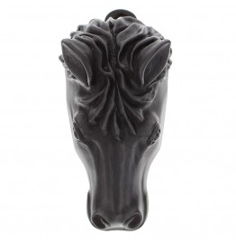 image for Horse Head Pewter Door Knocker Oil Rubbed Bronze