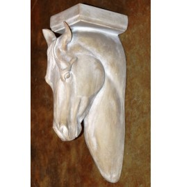 image for Sculpted Horse Head Corbel Wall Decor Large