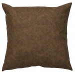 image for Western Bramble Faux Leather Eurosham Pillow Cover 26x26