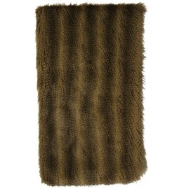 image for Faux Raccoon Fur Throw Blanket 54 x 72