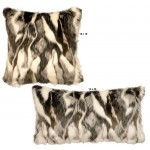 image for Forest Fox Faux Fur Throw Pillow Set of 2