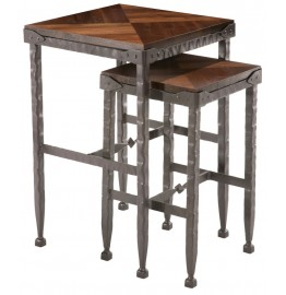 image for Forest Hill Linden Accent Nesting Table Small