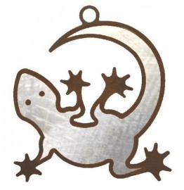 image for Gecko Lizard Southwest Christmas Ornaments Set of 3