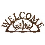 image for Gecko Lizards Southwestern Welcome Sign