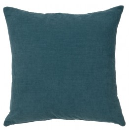 image for Geronimo Haze Throw Pillow Blueberry Turquoise 18 x 18