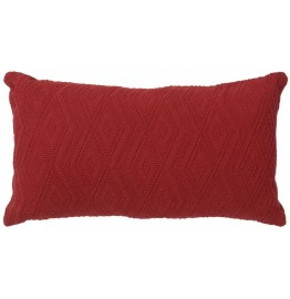 image for Naveen Brick Red Accent Throw Pillow 14 x 26