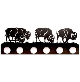 image for Buffalo Southwestern Vanity Light Bar 6 bulb