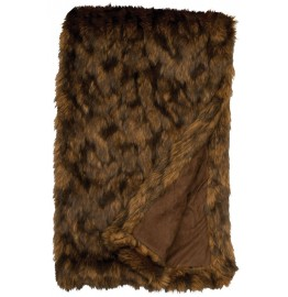 image for Grizzly Bear Faux Fur Throw Blanket 54 x 72