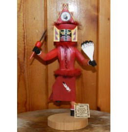 image for HEMIS Navajo Wood Carved Kachina Doll 12 inch