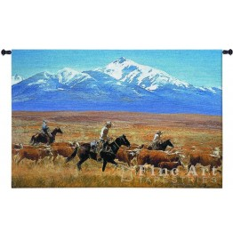 image for Homeward Bound Western Wall Tapestry & Rod 53 x 34