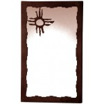 image for CUSTOM Hopi Sun Vertical Southwest Wall Mirror 38 x 28