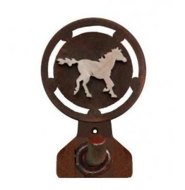 image for Galloping Horse Rustic Western Robe Hook