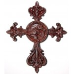 image for Horse Legends Equine Faux Iron Wall Cross