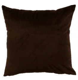 image for Hudson II Dark Brown Velvet Eurosham 26 x 26