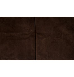 image for Hudson II Dark Brown Velvet Tailored Bedskirt