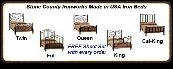 image for Free Sheet Set with Iron Bed Purchase